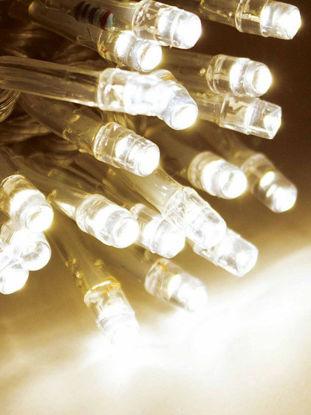 Slika BOŽIĆNA LAMPICA 100L LED PROZIRNA ŽICA