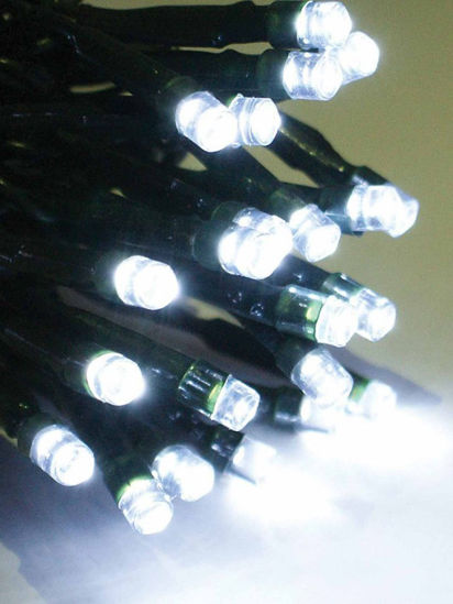 Slika BOŽIĆNA LAMPICA 200L LED ZELENA ŽICA